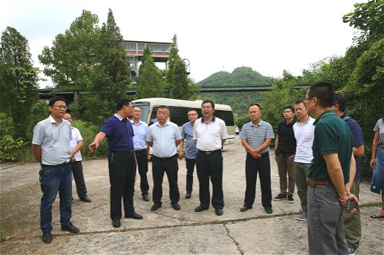 省环保厅赴清镇市调研汞污染治理工作开展情况